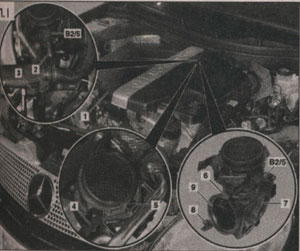 уплотнитель крышки Mercedes-Benz C-Class W203