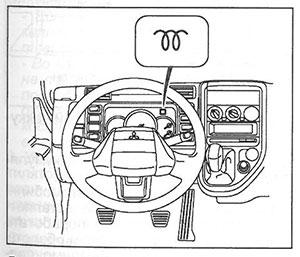 Индикатор облегчения пуска Mitsubishi Fuso Canter
