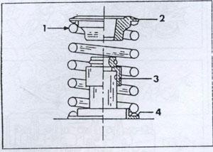 клапорная шайба Mitsubishi Galant