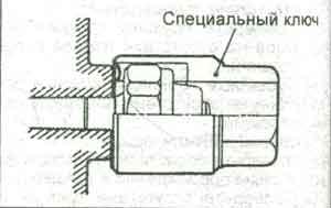 манометр Mitsubishi Grandis