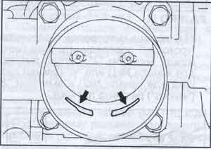 педаль акселератора Mitsubishi V6