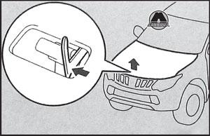 Предохранительный крюк Mitsubishi L200