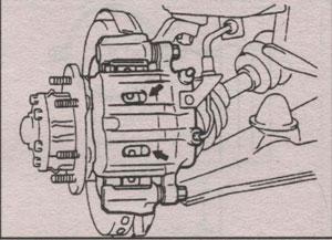 толщина тормозных колодок Mitsubishi Montero Sport, толщина тормозных колодок Mitsubishi Pajero Sport