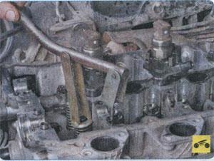приспособление для сжатия пружины клапана Mitsubishi Pajero Sport, приспособление для сжатия пружины клапана Mitsubishi L200
