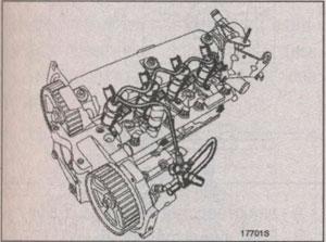 штуцера топливопровода Mitsubishi Carisma