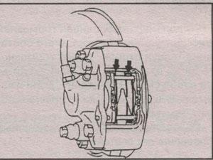 толщина тормозной колодки Mitsubishi Montero Sport, толщина тормозной колодки Mitsubishi Pajero Sport
