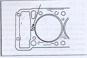 уплотнительная прокладка Mitsubishi Galant