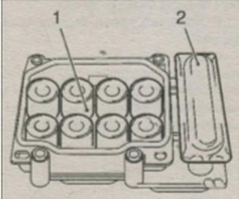 модуль управления АБС автомобиля Opel Corsa