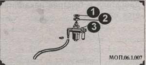 топливный кран мопедов