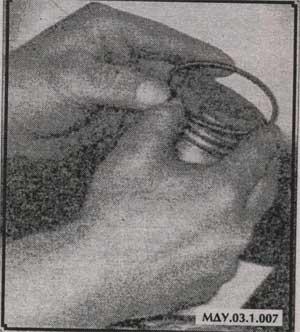 верхнее кольцо поршня Днепр