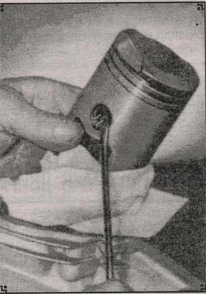 выемка стопорного кольца Минск М 105