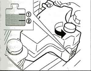 бачок охлаждающей жидкости Nissan Murano