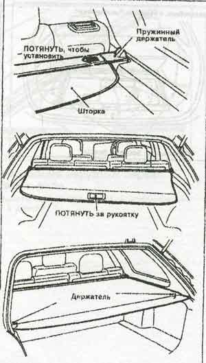 багажное отделение Nissan Primera