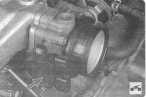 датчик положения дросслеьной заслонки Nissan Laurel