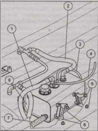 масляный бачок Nissan Almera