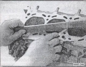 головка цилиндров Nissan Almera