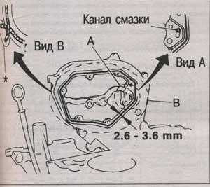 крышка цепи грм Nissan X-Trail