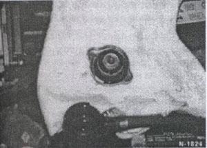 крышка радиатора Nissan Micra
