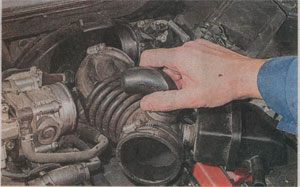 резонатор воздуховода Nissan Qashqai, резонатор воздуховода Nissan Qashqai+2