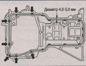 установка фильтра грубой очистки Nissan X-Trail