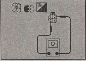 сопротивление датчика кислорода Nissan Skyline