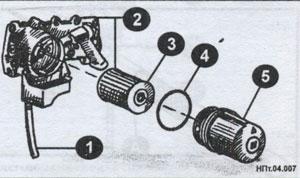 элементы фильтра Nissan Patrol