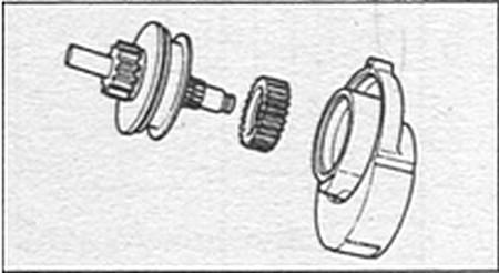 обгонная муфта Kia Sportage