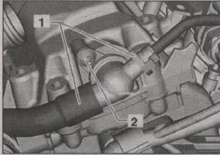 обратный клапан двигателя Volkswagen Golf Plus
