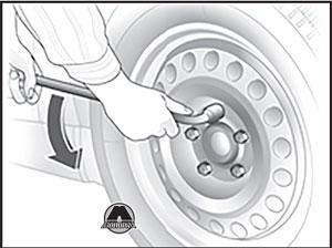 Колпачки колесных гаек Opel Zafira Tourer