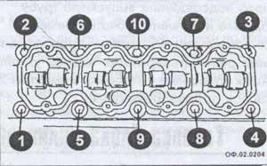 крепление блока цилиндров Opel Frontera