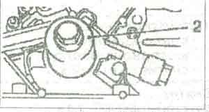 крышка масляного насоса Opel Astra H
