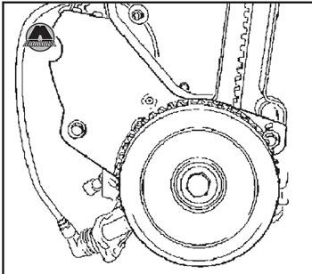 Крышки ремня привода газораспределительного механизма Opel Vectra A