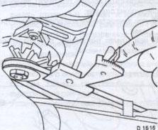 Прибор измерения натяжения Opel Corsa B / Tigra с 1993 года