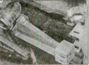 снятие радиатора Opel Vectra