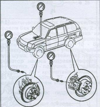 гидроусилитель тормозов Toyota Land Cruiser 100, модулятор давления Toyota Land Cruiser 100