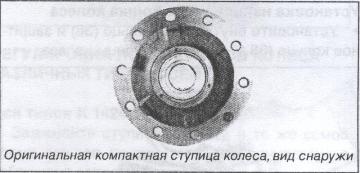 оригинальная компактная ступица колеса SAF