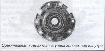 оригинальная компактная ступица колеса САФ