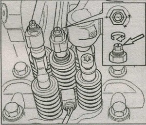 ззазоры клапанов Volvo FH, стопорные гайки Volvo FH, маховик Volvo FH