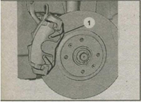 передние тормозные колодки Peugeot 308 фирмы Teves