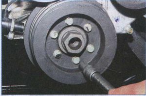 ступица шкива коленчатого вала ГАЗ 3302
