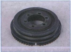 шкив вспомогательных агрегатов ГАЗ 3302, демпфер крутильных колебаний ГАЗ 3302
