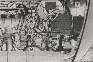 блок управления двигателем Peugeot 607