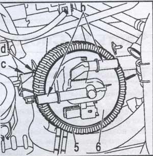 рабочий элемент топливного фильтра Peugeot Partner, рабочий элемент топливного фильтра Citroen Berlingo