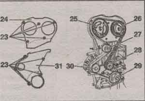 клапанные пружины Peugeot 206