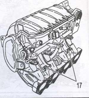 крепление инжекторов Peugeot Partner, крепление инжекторов Citroen Berlingo