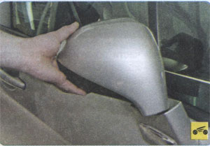наружное зеркало Peugeot 408