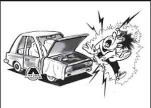 поражение электрическим током Peugeot 208