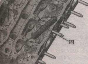 пружины клапана Peugeot 307