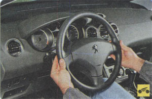 Рулевое колесо Peugeot 408