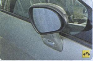 Шарнир наружного зеркала Peugeot 408